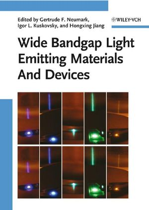 Wide Bandgap Light Emitting Materials And Devices (3527403310) cover image