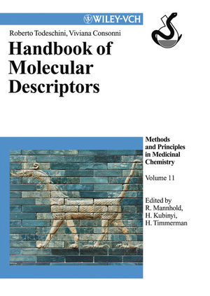 Handbook of Molecular Descriptors, Volume 11 (3527613110) cover image