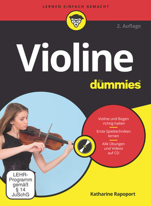 Violine fur Dummies, 2nd Edition