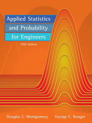 Applied Statistics and Probability for Engineers, 5th Edition (EHEP001610) cover image