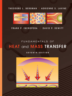 Fundamentals of Heat and Mass Transfer, 7th Edition (EHEP001810) cover image