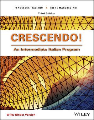 Crescendo!: An Intermediate Italian Program, Binder Ready Version (EHEP003610) cover image