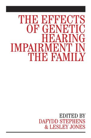 The Effects of Genetic Hearing Impairment in the Family (0470030011) cover image