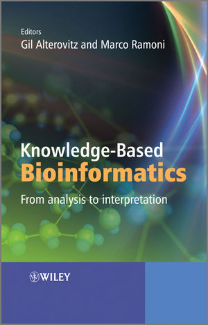 Knowledge-Based Bioinformatics: From analysis to interpretation (0470748311) cover image