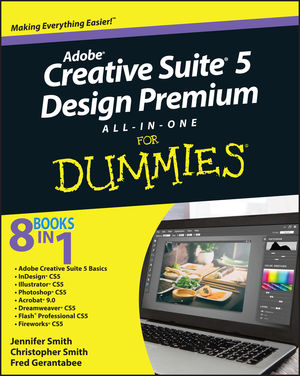 Adobe Creative Suite 5 Design Premium All-in-One For Dummies (0470901411) cover image