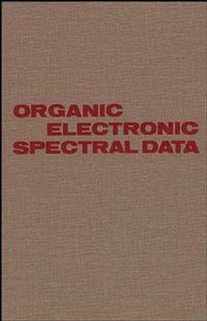 Organic Electronic Spectral Data, Volume 30, 1988