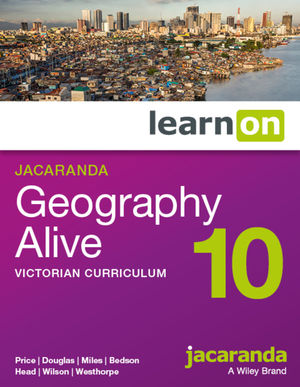 Jacaranda Geography Alive 10 Victorian Curriculum LearnOn (Online Purchase)