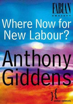 Where Now for New Labour? (0745629911) cover image