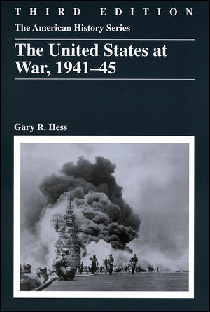 The United States at War, 1941 - 1945, 3rd Edition (0882952811) cover image