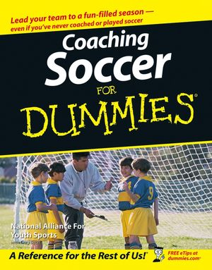 Coaching Soccer For Dummies (1118052811) cover image