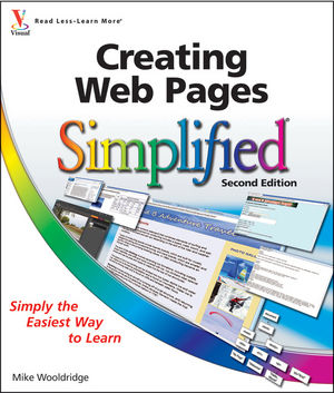 Creating Web Pages Simplified, 2nd Edition (1118063511) cover image