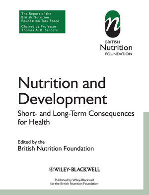Nutrition and Development: Short and Long Term Consequences for Health (1118541111) cover image