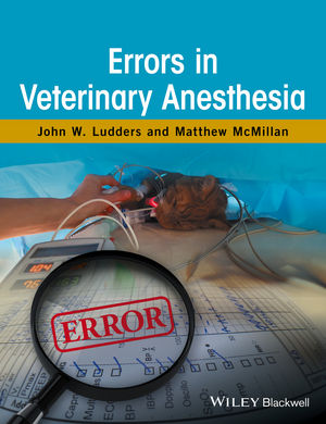 Errors in Veterinary Anesthesia (1119259711) cover image