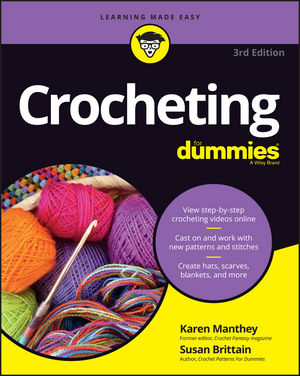 Crocheting For Dummies with Online Videos, 3rd Edition