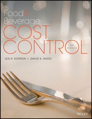 Food and Beverage Cost Control, 6e with Student Study Guide Set