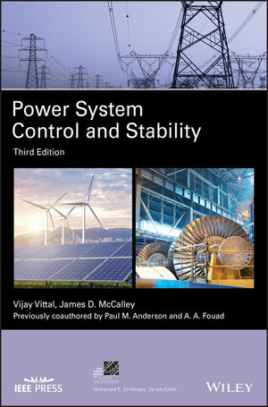Power System Control and Stability, 3rd Edition