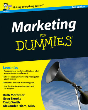 Marketing For Dummies, 2nd Edition, UK Edition (1119992311) cover image