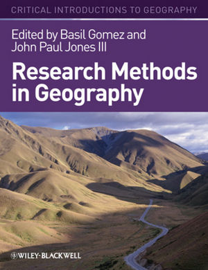 Research Methods in Geography: A Critical Introduction (1405107111) cover image