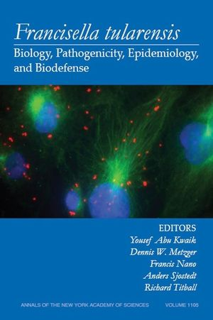 Francisella Tularensis: Biology, Pathogenicity, Epidemiology, and Biodefense, Volume 1105 (1573316911) cover image