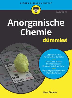Anorganische Chemie fur Dummies, 3rd Edition