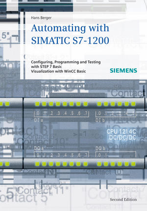 Automating with SIMATIC S7-1200: Configuring, Programming and Testing with STEP 7 Basic (3895789011) cover image