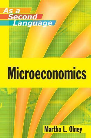 Microeconomics as a Second Language (EHEP000311) cover image