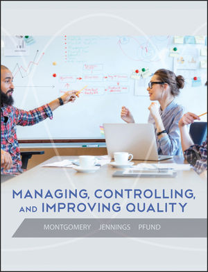 Managing, Controlling, and Improving Quality, 1st Edition (EHEP001611) cover image
