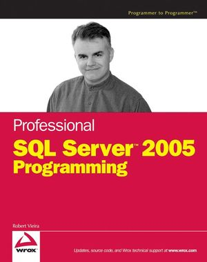 Professional SQL Server 2005 Programming (0470106212) cover image
