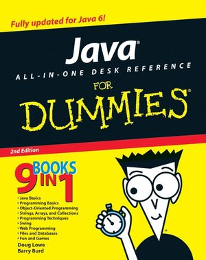 Java All In One Desk Reference For Dummies 2nd Edition Object