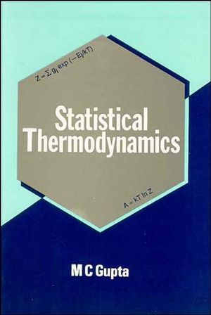 Statistical Thermodynamics (0470211512) cover image