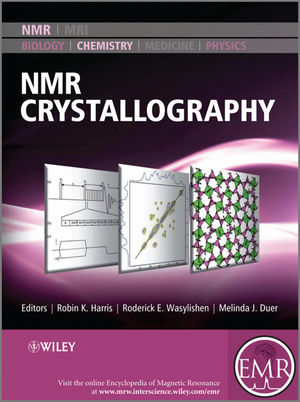 NMR Crystallography (0470699612) cover image