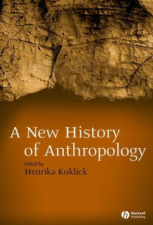 New History of Anthropology (0470766212) cover image