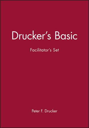 Drucker's Basic Facilitator's Set