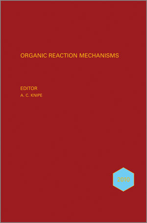 Organic Reaction Mechanisms, 2010 (0470970812) cover image