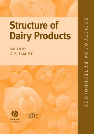 Structure of Dairy Products (0470995912) cover image
