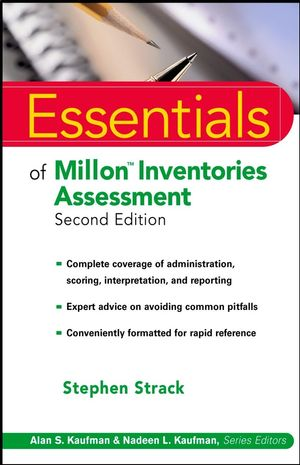 Essentials of Millon Inventories Assessment, 2nd Edition