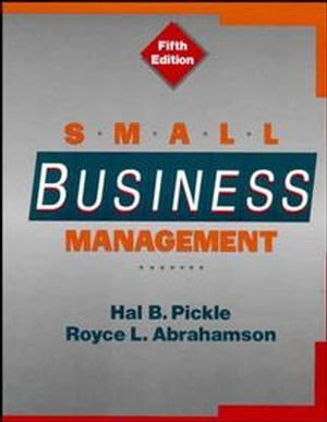 Small Business Management, 5th Edition (0471500712) cover image