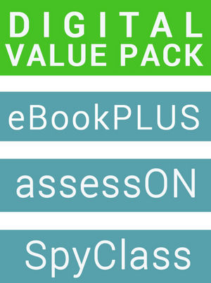 Maths Quest 8 for New South Wales Australian Curriculum Edition eBookPLUS + AssessOn Maths Quest 8 for New South Wales AC (Card) + SpyClass Maths Quest 8 (Card)