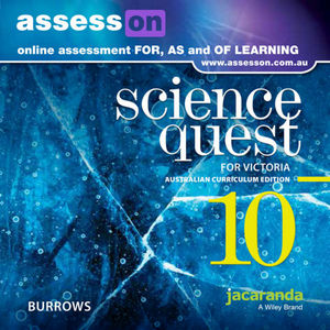 Assesson Science Quest 10 Australian Curriculum Victorian Edition (Online Purchase)