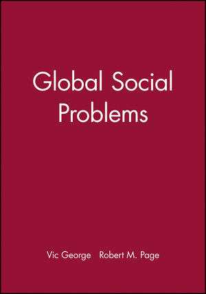 Global Social Problems (0745629512) cover image