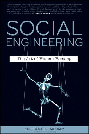 Social Engineering: The Art of Human Hacking (1118029712) cover image