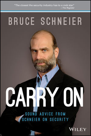 Carry On: Sound Advice from Schneier on Security (1118790812) cover image