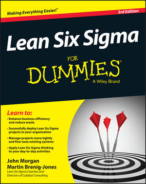Lean Six Sigma For Dummies, 3rd Edition (1119073812) cover image