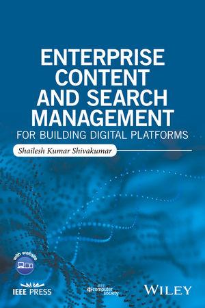 Enterprise Content and Search Management for Building Digital Platforms (1119206812) cover image