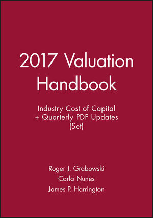 2017 Valuation Handbook -- U.S. Industry Cost of Capital + Quarterly PDF Updates (Set)