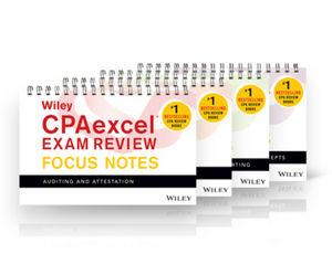 Wiley CPAexcel Exam Review January 2017 Focus Notes: Complete Set (1119412412) cover image
