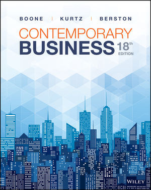 Contemporary Business, 18th Edition