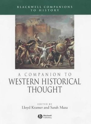 A Companion to Western Historical Thought (1405149612) cover image