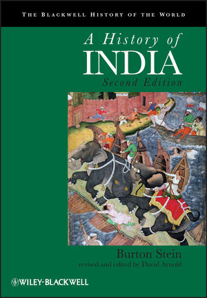 A History of India, 2nd Edition (1444323512) cover image