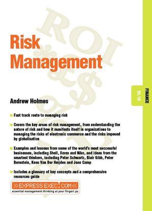 Risk Management: Finance 05.10